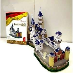 3d puzzle cubic fun / diy paper toy / furniture jewelry