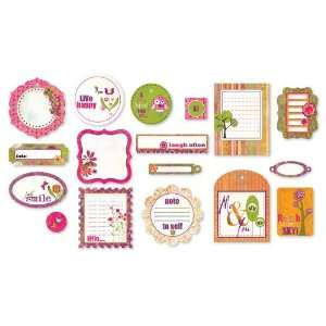 Green At Heart Die Cut Shapes By The Package Arts, Crafts & Sewing