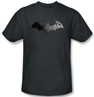 NEW Men Women SIZE Batman Arkham City Video Game Classic Bat Logo DC T