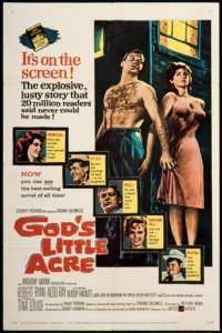 Gods Little Acre 1958 Original US Movie Poster 1 Sheet