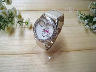 New HelloKitty Lovely Ladies Quartz Watch Wristwatch