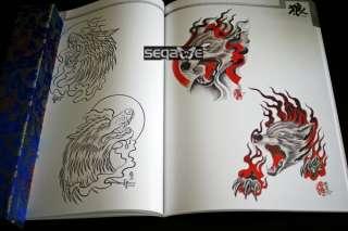 Tattoo Flash Book Art Magzine Sketch Wolf Design Amazin |