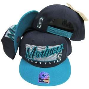 Seattle Mariners Two Tone Plastic Snapback Adjustable