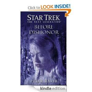 Star Trek The Next Generation Before Dishonor eBook