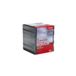 imation CD/DVD Slim Line Jewel Cases