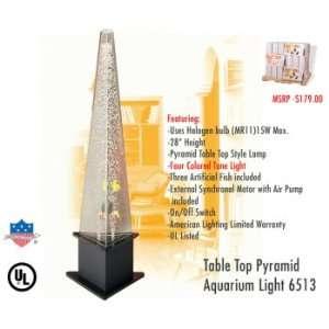 American Lighting 6513 Table Top Pyramid Aquarium Light