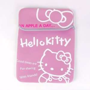 Hello Kitty Laptop Notebook Computer Case Pink
