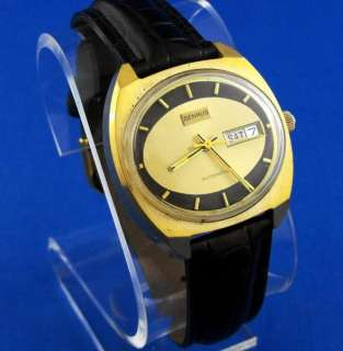 1970s Retro Benrus Automatic /w Calendar 17 Jewels Watch