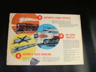 1953 American Flyer Railroad Model Train Catalog