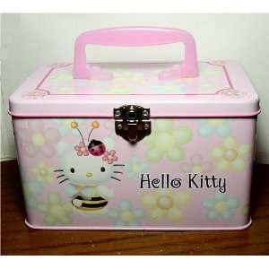 Hello Kitty Tin Storage Box Toys & Games