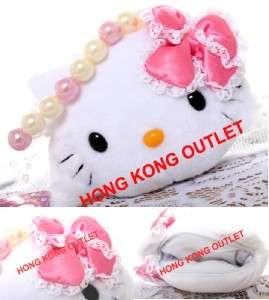Charmmy Kitty Soft Plush Purse Wallet Hand Bag Gift Sanrio Hello Kitty