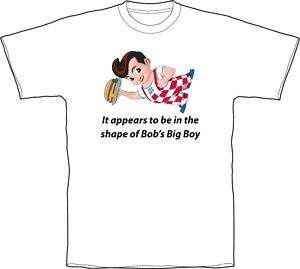 Austin Powers_Bobs Big Boy_T Shirt White