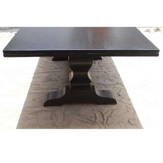 Farmhouse 8 People Seater Large Family Trestle Dining Table Hard Wood