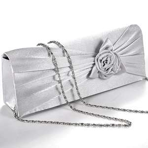 leather EVENING WEDDING PROM PARTY BRIDAL CLUTCH BAG CRYSTAL DIAMANTE