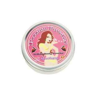 Passion Powder Edible Body Dust 2.25 oz With Feather