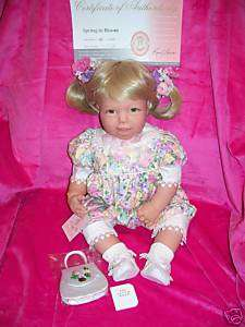 JUST REDUCED~RETIRED~Spring In Bloom~Lee Middleton Doll