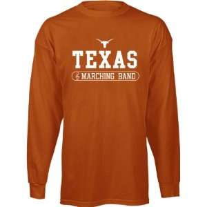 Dark Orange Marching Band Long Sleeve T Shirt