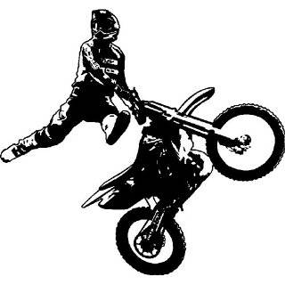 ATV Four Wheeler   Vinyl Wall Art Decal Stickers Decor Graphics