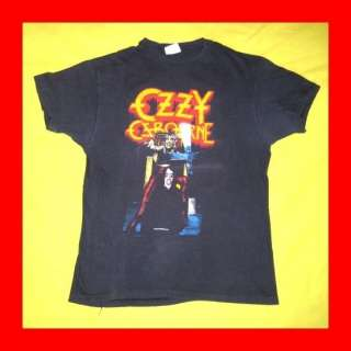 Vtg 1982 OZZY OSBOURNE T SHIRT tour black sabbath tee