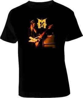 Michael Schenker Scorpions Ufo Msg Guitar T Shirt Black