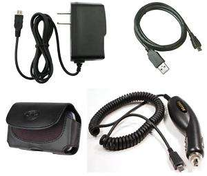 for ATT Samsung Flight 2 USB Cable +Case+Car+AC Charger