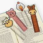 12 Farm Animal Ruler Bookmarks Birthday Party Favors Stationary Gifts
