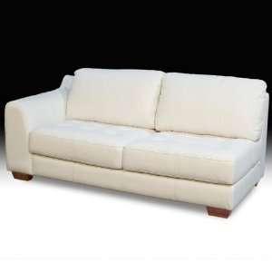 All Leather Tufted Seat Sofa   Diamond Sofa zenlfsofaw