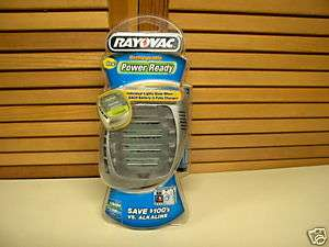 Rayovac POWER READY NiMH Charger 2 4 Hour Fast Charge