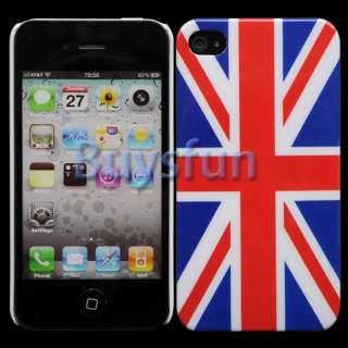 UNION JACK FLAG HARD CASE COVER SKIN FOR APPLE IPHONE 4 4G 4S