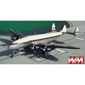 Western Models Delta Airlines L 749 Model Airplane