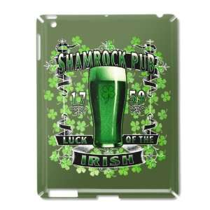 iPad 2 Case Green of Shamrock Pub Luck of the Irish 1759 St Patricks