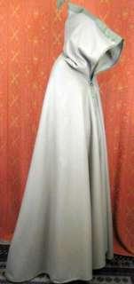 Vintage Moroccan Camel Wool Cape Cloak Full Length BOHO