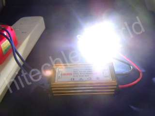 5X10W WATT HIGH POWER WHITE LED Light 750Lm+ LED DRIVER