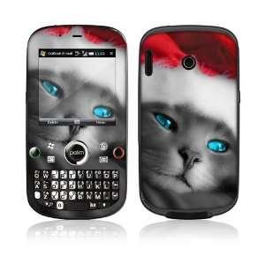 Treo Plus Skin Decal Sticker  Christmas Kitty Cat