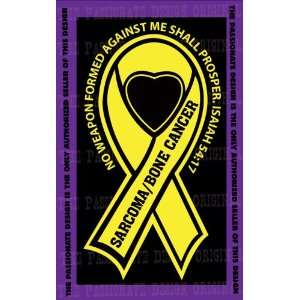 Sarcoma Bone Cancer Ribbon Decal 4 X 7 Everything Else