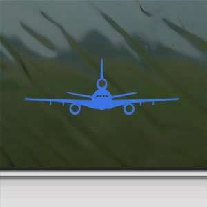 KC 10 Extender Tanker USAF Blue Decal Window Blue Sticker