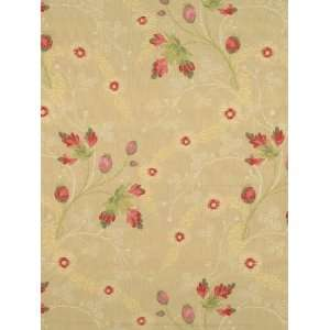 Scalamandre Grenada   Berries On Cream Fabric Arts