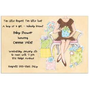 Baby Mama Party Invitations: Toys & Games