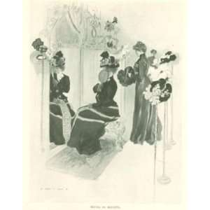 1901 Shopping At New York Big Department Stores