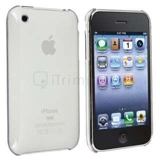Ultra Slim Fit Clear Clip on Hard Case Cover for iPhone 3 G 3GS 0.09