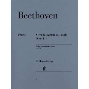 Beethoven String Quartet c sharp minor op. 131 (Henle