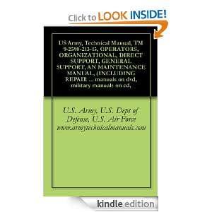 US Army, Technical Manual, TM 9 2590 213 15, OPERATORS, ORGANIZATIONAL