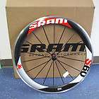 new 2011 sram s60 clincher carbon front wheel black w