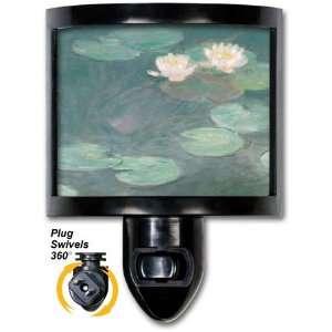 Monet Water Lilies (Close Up)   Night Light