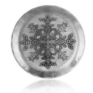 Handmade Snowflake Coaster by Wendell August Forge