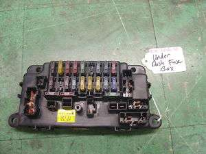88 89 90 91 HONDA PRELUDE UNDER DASH INDASH INTERIOR FUSE BOX OEM