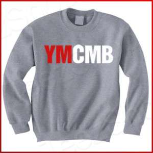 YMCMB Young Money Lil Wayne cash Weezy grey Sweatshirt
