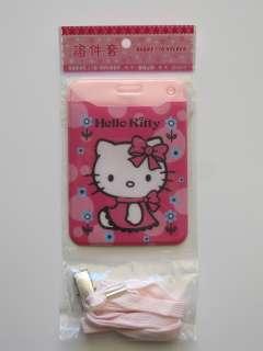Hello Kitty ID Name Tag Badge Holder Lanyard