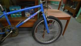 bmx bike serial number m7fe14417 in good used condition bike could use