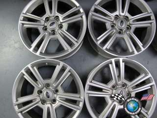 Four 05 11 Ford Mustang Factory 17 Wheels OEM Rims 3808 AR33 1007 AB